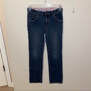 Levi's girls size 16R straight leg jean